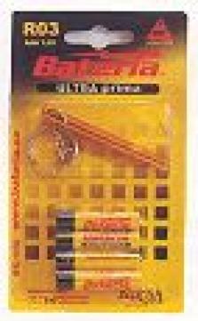 Primárne batérie, zinkochloridové - Ultraprima R03 - blister