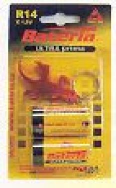 Primárne batérie, zinkochloridové - Ultraprima R14 - blister