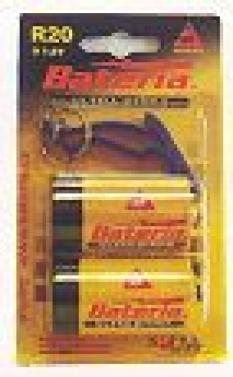 Primárne batérie, zinkochloridové - Ultraprima R20 - blister