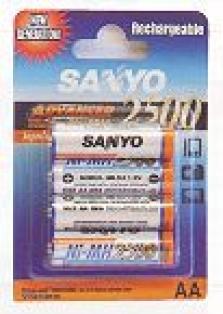 Komerčné akumulátory Sanyo NH2500