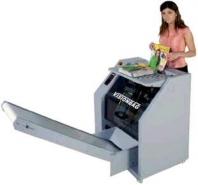 Visiobang - stroj na balenie časopisov