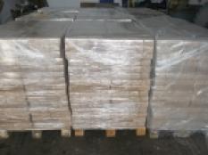 Dřevěné brikety kostka ruf borovice
