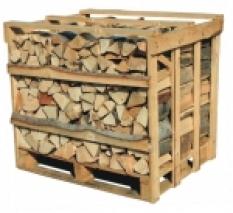 Palivové dřevo buk skládaný 1m3