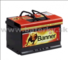 Autobatéria Banner Power Bull P72 09 12V 72Ah 660A