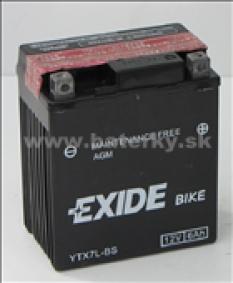 Motobatéria Exide Bike AGM YTX7L-BS 12V 6Ah