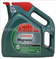 Motorové oleje - Castrol Magnatec 15W-40 5L