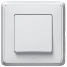 Vypínač č.1, biely, 230V, 10A, IP20, 773801