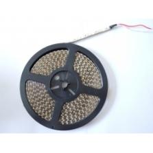 LED pás 120led na meter, IP64, DC12V, studená biela, 5m balenie