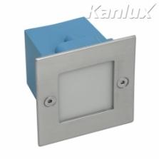 Kanlux Taxi LED9KW 4000K vstavané svietidlo na 230V, teplé svetlo