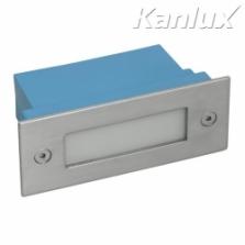 Kanlux Taxi LED12PR 2700K vstavané svietidlo na 230V, studené svetlo