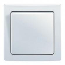 vypínač č.1, biely, béžový, slonovinový, šedý, krémový, hnedý,10A, IP20,3557G-C01340 B1