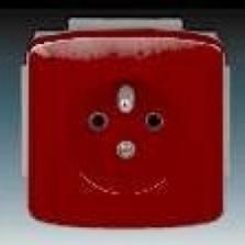 bordová zásuvka komplet bez rámika, 230V, 16A, IP20, 5518A-A2349 R