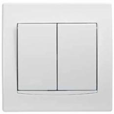 vypínač č.5, biely, 230V, 10A, IP20, AYA0300221