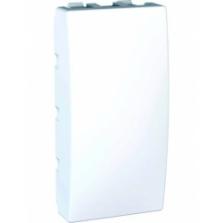 Tlačidlo č.1 polárny biely polmodul, 250V, 10A, IP20, MGU3.106.18