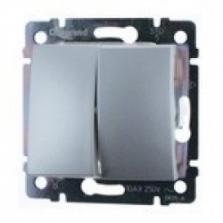 sériový prepínač č.5B (6+6), 230V,10A,IP20 hliník, 770108
