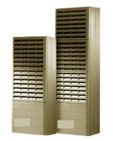 Klimatizační jednotky na stěnu, k částečnému nebo úplnému zabudování