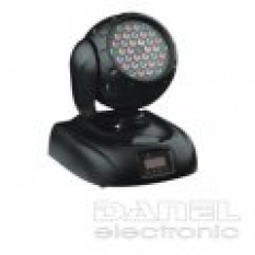 LED otočné hlavy - LED Wash 36 RGB