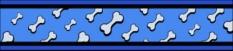 Vodítko so vzorom malé 1,2m Flying Bones