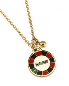 Náhrdelník Moschino Rien Ne Va Plus MJ0142