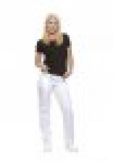 Dámske nohavice Orleans biele