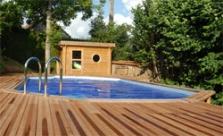 Letní plachta pro bazén