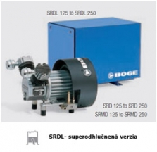 Piestové kompresory Boge SRD-SBD_125-250