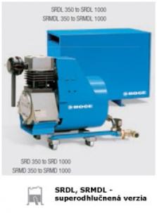 Piestové kompresory SRD-SBD_350-1000