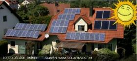 Solární fotovoltaické systémy na klíč