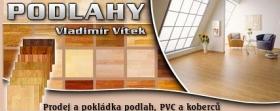 Prodej a pokládka podlah, PVC a koberců