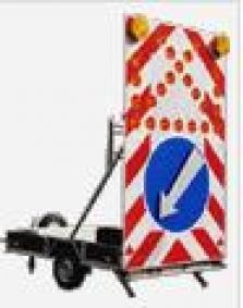 Velký signalizační vozík ST2