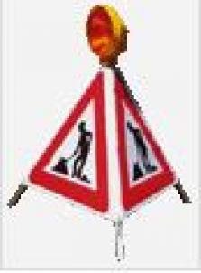 Skládací výstražný trojúhelník D180/BaT-A15 a D180/BaT-A22