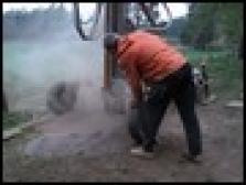 Čištění kopaných studní