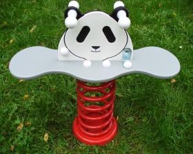 Houpadlo na pružině zn.HARI - Panda