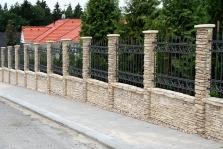 Ocelové  ploty