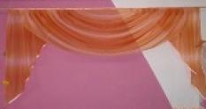 Oranžovo-růžová Voda