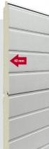 Průmyslová sekční vrata dvojstěnná s maximální tepelnou izolací