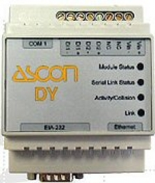 DY - Ethernet modul a WEB server
