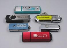 reklamní USB flash disky - příklady realizací