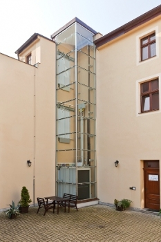 Panoramatický výtah