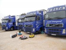 Čistenie nákladných automobilov!