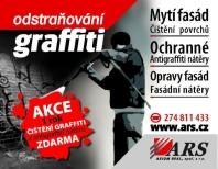 Mytí fasád, Čištění povrchů, Odstraňování graffiti od ARS AXIOM REAL, s. r.o.