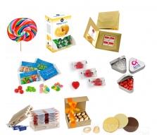 Reklamné sladkosti a sladké darčeky