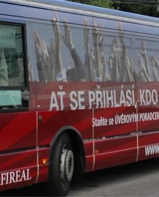 Reklamní plochy - Autobusy