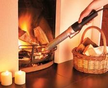 Jednoduché zapaľovanie uhlia, dreva a brikiet