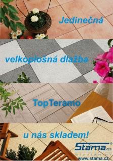 Exkluzivní dlažba TopTeramo ve Stamě!