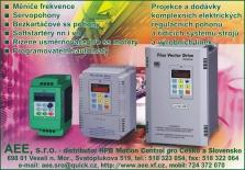 AEE, s.r.o. - Regulační elektrické pohony