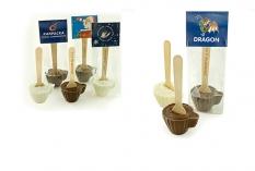 Reklamný čokoládový pohár