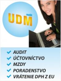 Audit, účtovníctvo, zmeny v OR, zlúčenia, splynutia , rozdelenia , datové centrum
