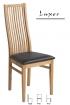 Dřevěná jídelní židle Luxor