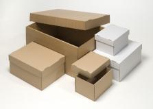Úložné, stěhovací a archivační krabice
